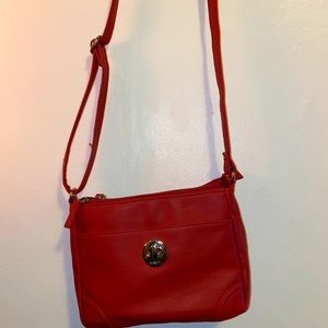 Red Rosetti Shoulder Bag (Purse)